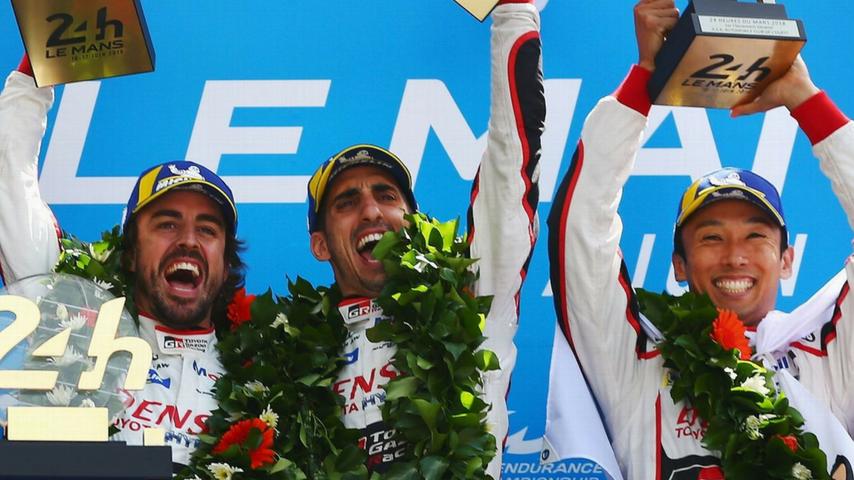 24 Ore Le Mans 2018, Alonso trionfa e punta ora alla Triple Crown