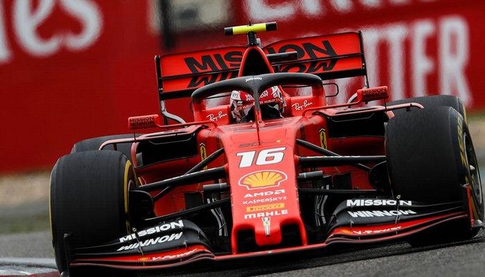 Leclerc nel GP di Cina