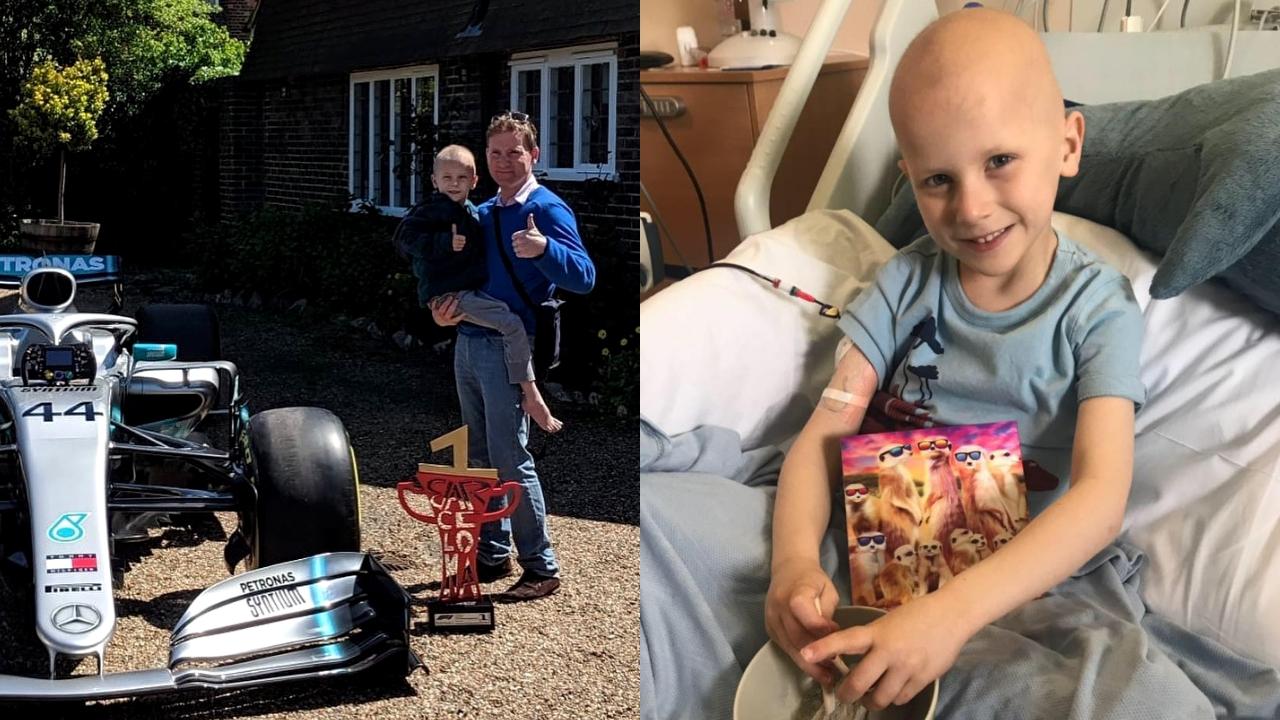 Addio a Harry, il piccolo fan di Hamilton malato di tumore