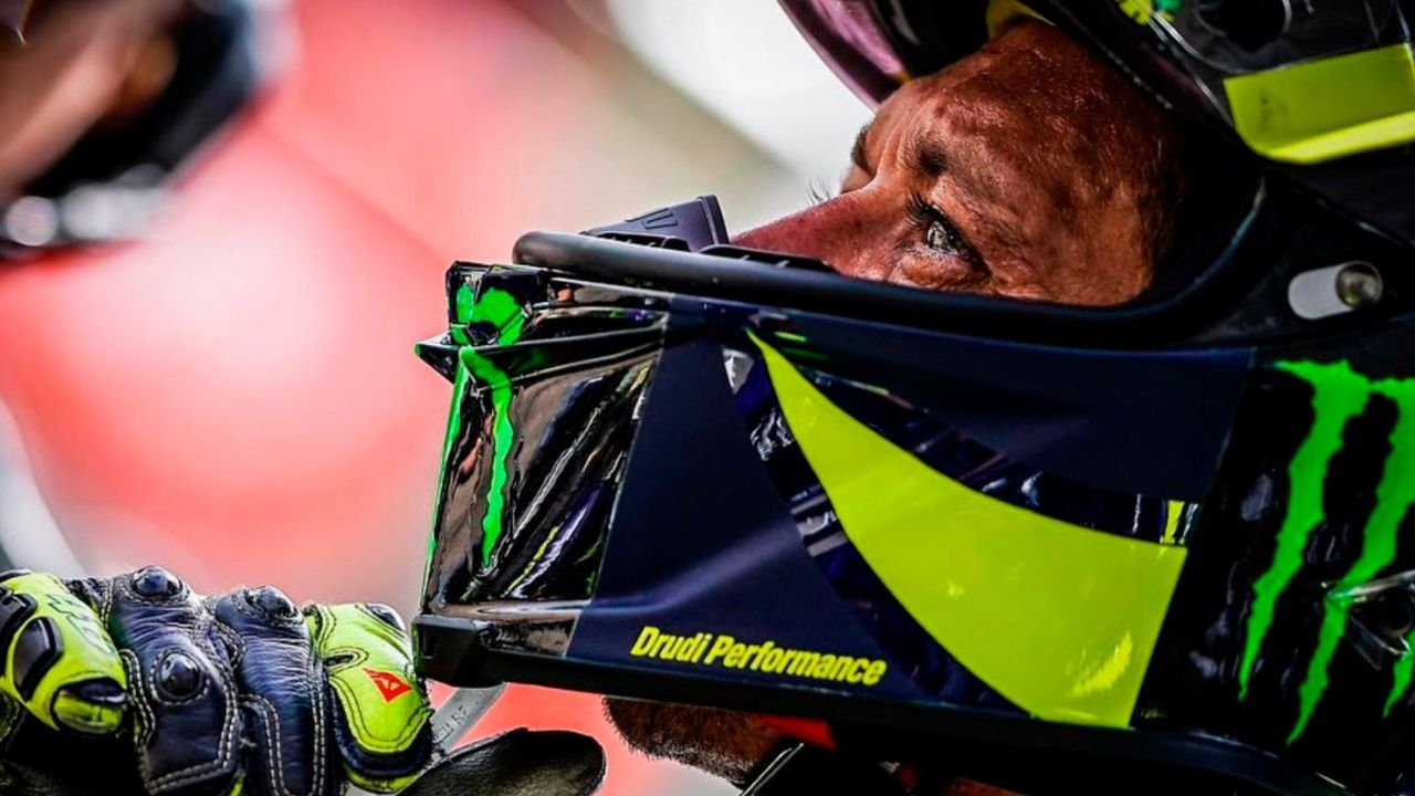 Rossi in difficoltà al Sachsenring