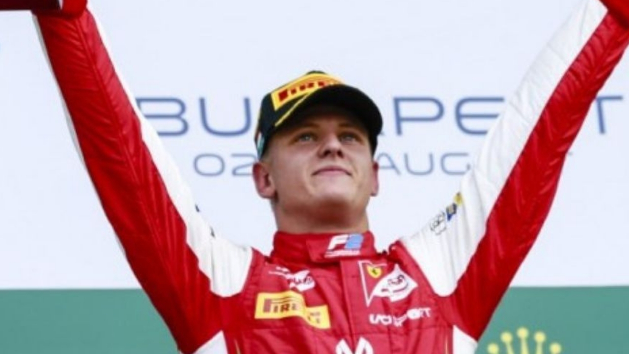 Mick Schumacher vince all'Hungaroring