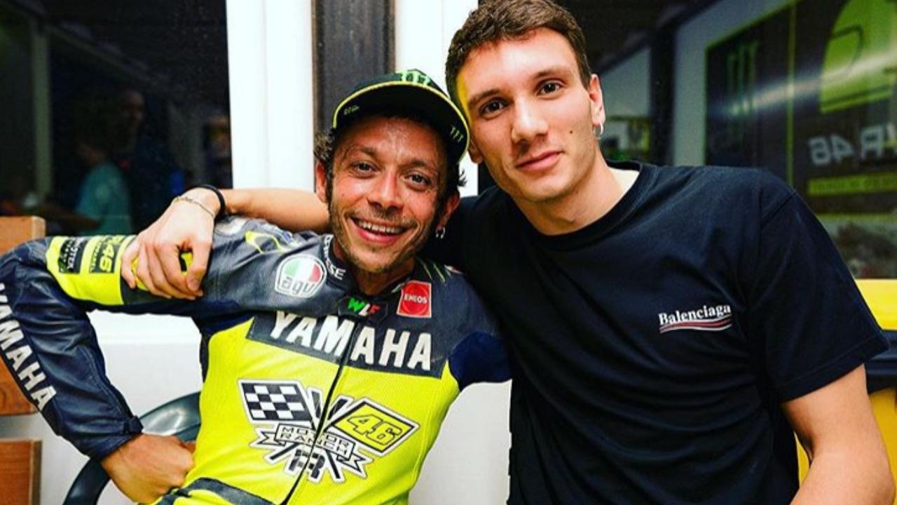 """Manuel Bortuzzo incontra Valentino Rossi: """"Chi ci ferma a noi due?"""""""