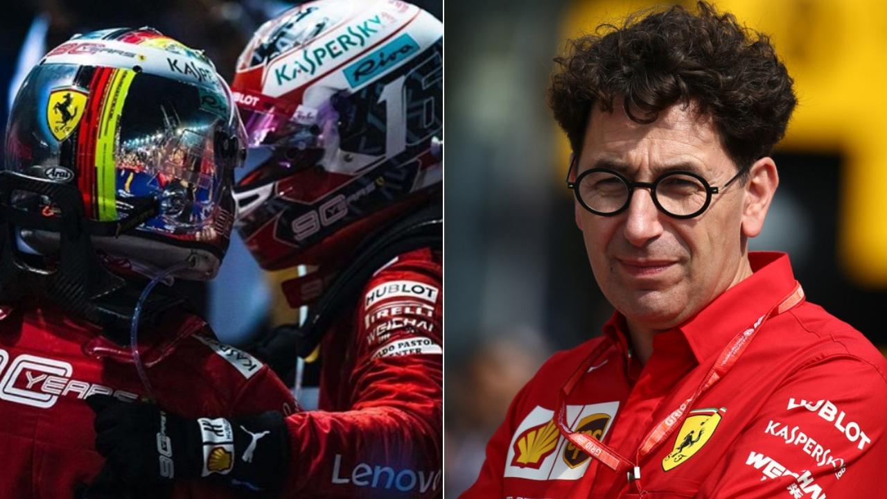 """Binotto """"spegne"""" le polemiche sul ritiro di Vettel: la SF90 non era isolata"""