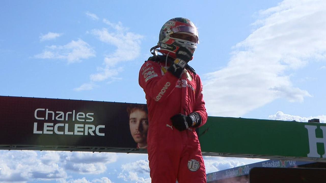 Charles Leclerc vince a Monza
