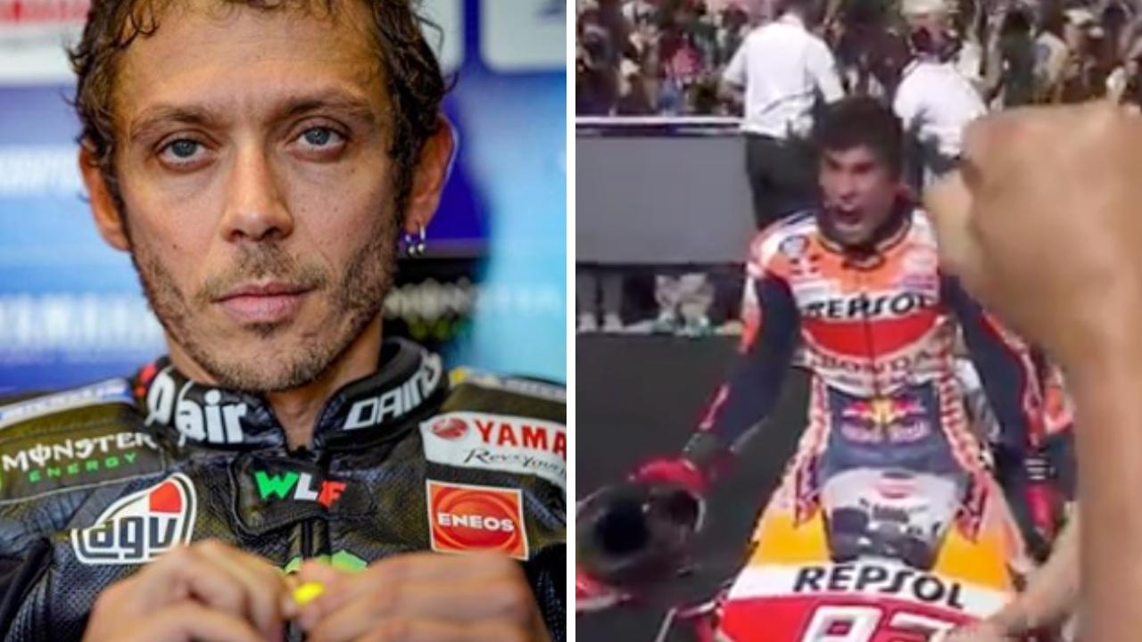 """Rossi al veleno contro Marquez: """"Non ho bisogno di litigare"""""""