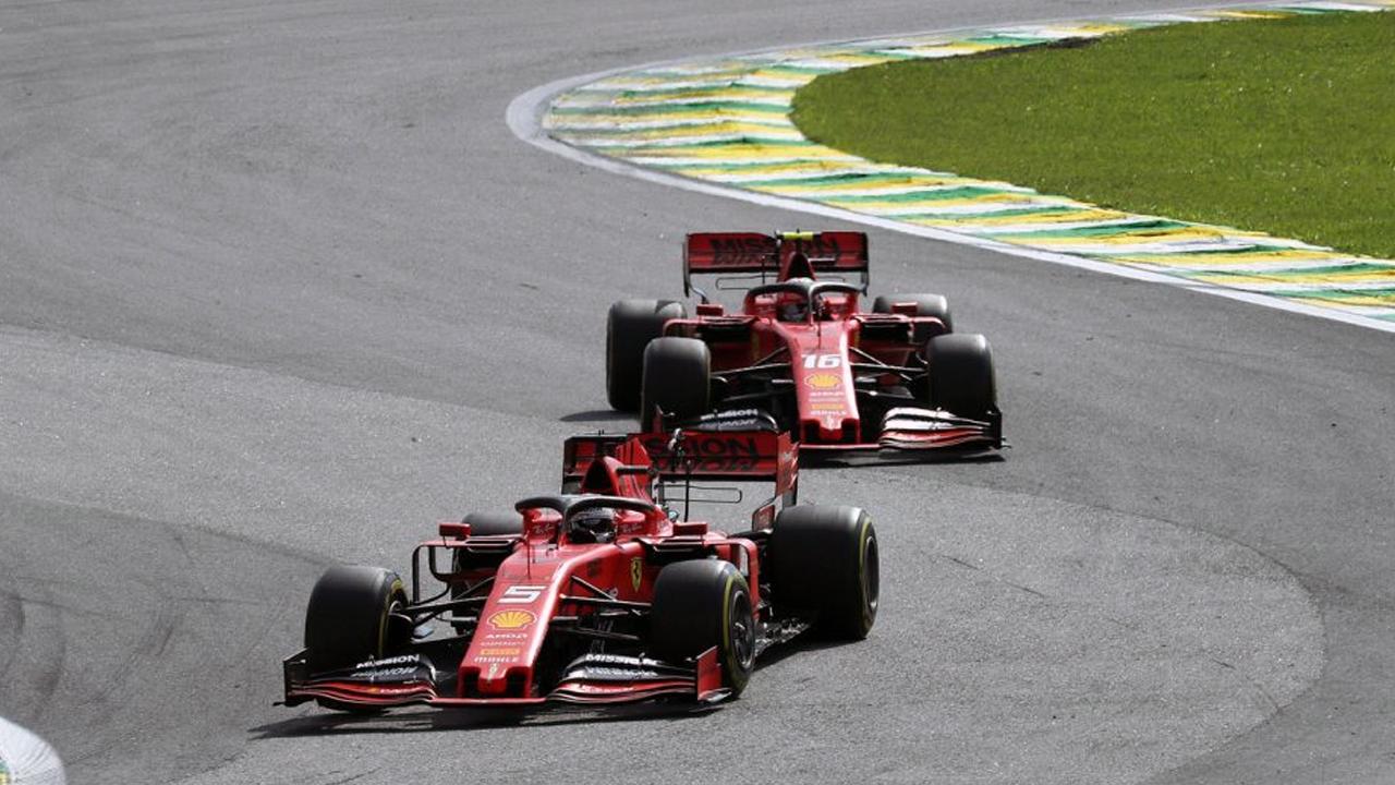 Leclerc e Vettel ad Abu Dhabi