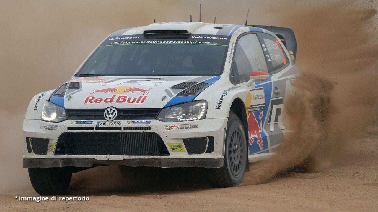 macchina da rally