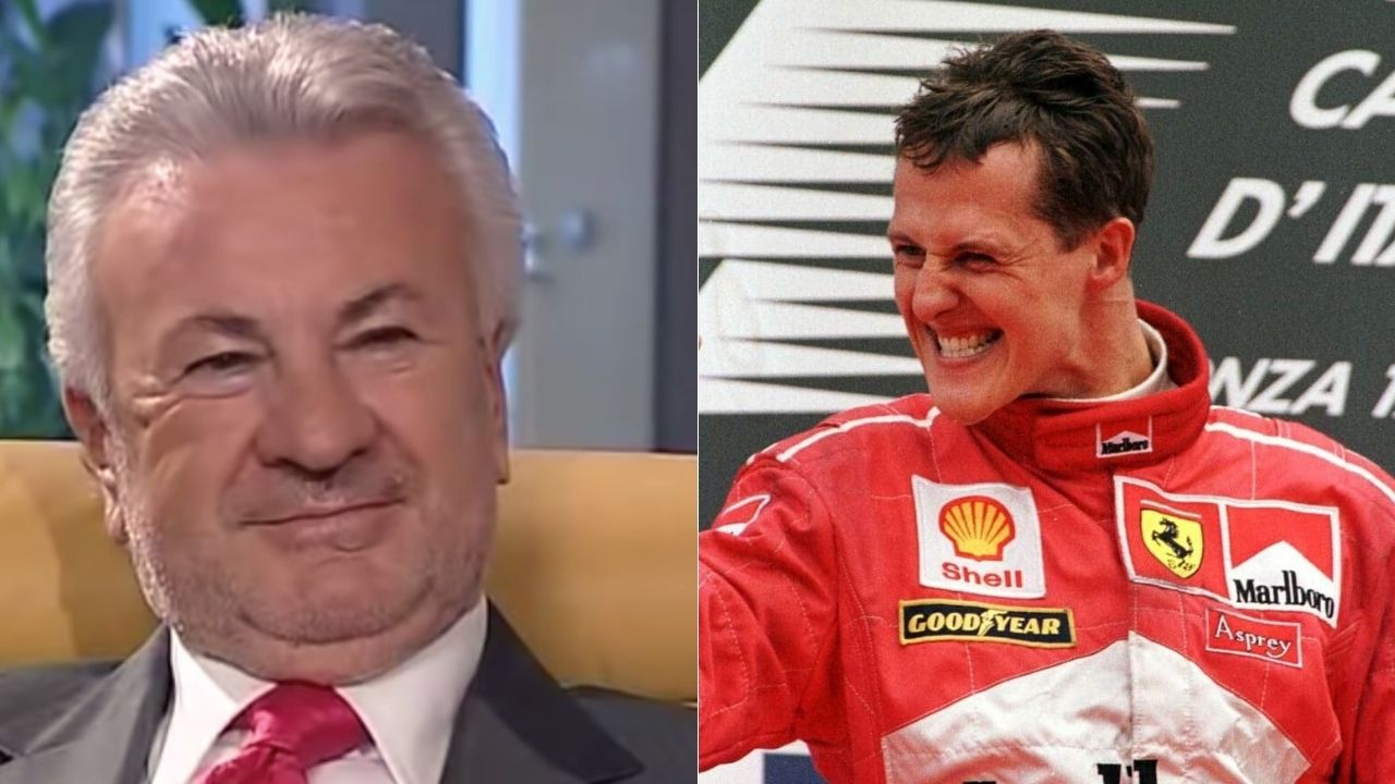 willi weber e michael schumacher